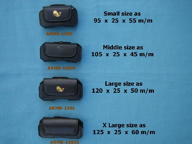 Leather EMF Mobile Phone Bags